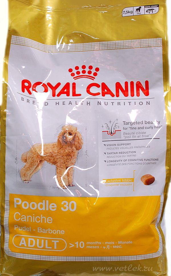 Корм royal canin poodle 30