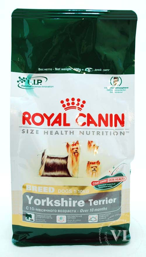 Корм royal canin breed yorkshire terrier